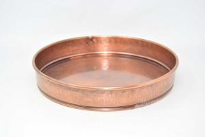 Below Copper Vase Round 32 Cm Diameter