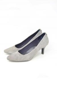 Shoes Col Heel Woman Rockport Grey N° 40