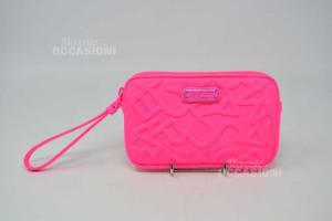 Clutch Bag / Holder Coins Pink Fluo Marc Jacobs