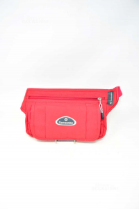 Pouch Multipockets Samsonite Red In Canvas