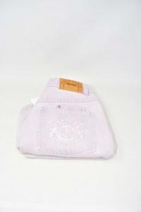 Jeans Woman Jil Sander Lilac Size 40
