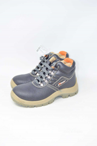 Shoes Accident Prevention U Power Black And Beige New N° 35