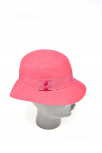 Hat Red Woman 100% Wool