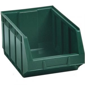 CONTENITORE IN PLASTICA BULL 4 - MM 200x345x H.164 Verde LxPxH mm 200x345x164