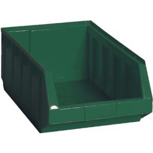 CONTENITORE IN PLASTICA BULL 5 - MM 298x485x H.189 Verde LxPxH mm 298x485x189