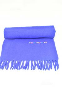 Scarf Rocco Barocco Blue 100% Wool