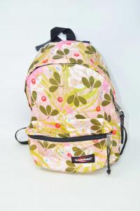 Backpack Eastpak Mini Fantasy Pink Green