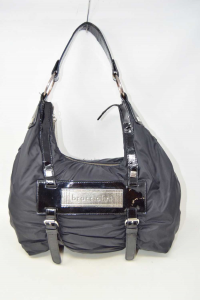Bag Braccialini Black Curled In Cloth And Paint
