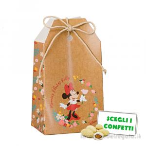 Portaconfetti bustina Minnie Flowers Disney 5.5x3.5x10 cm - Scatole bimba