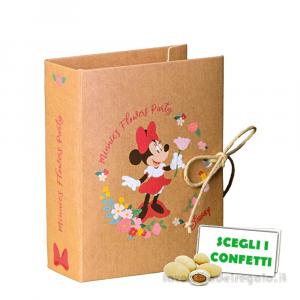 Portaconfetti libro Minnie Flowers Disney 7x6x3 cm - Scatole bimba