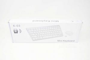 Keyboard + Mouse Replica Apple Mini Keyboard Model K-03 New