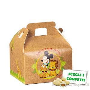 Valigetta portaconfetti Mickey Savana Disney 7x6x4.3 cm - Scatole bimbo