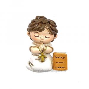 Magnete bambino in Preghiera 3.5x1.2x4.5 cm - Bomboniera comunione bimbo