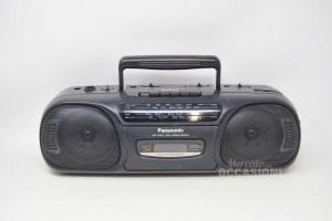 Radio Panasonic Rx-fs430 Black With Boxes