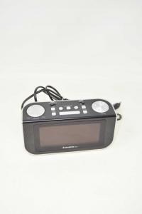 Radio Allarm Clock Majestric Rs92 Black