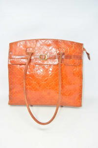 Bag Vintage Genuine Leather 37x30x9 Cm