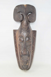 Mask African Wood 50 Cm