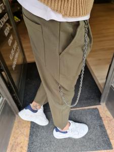 Pantalaccio verdone con accessorio