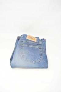 Jeans Donna D&G Tg 40 Modello A Zampa