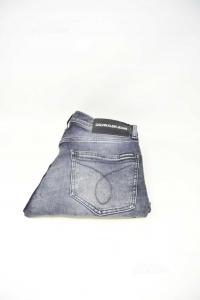Jeans Ragazzo Calvin Klein Scuri Tg 30 - 32