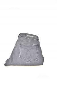 Jeans Ragazzo Calvin Klein Neri Tg 30 - 32 M