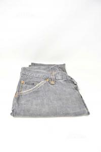 Jeans Uomo Grigi Dolce & Gabbana Tg 48/50 I