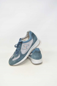 Scarpe Hogan Blu Jeans N 41