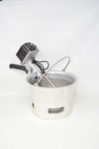 Paiolo In Alluminio Per Polenta Con Motore