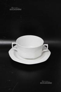 Tazze Da Tè Bianch ceramica 9 Pezzi Lelthamm Bavaria