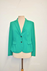 Giacca Donna H&M Verde Tg 42