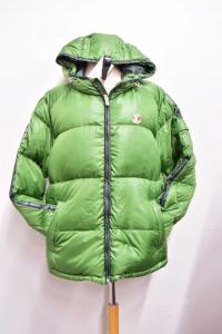 Giubotto Uomo Dolomite Verde 80 % Piuma 20 % Piumetta Tg Xl