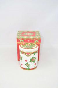 Contenitore In Ceramica Palais Royal Natalizio 12 Cm Altezza