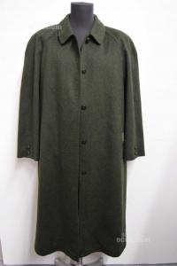 Cappotto Uomo Loden Tg. 50 baur Made In Austria Tg. 50 Verde