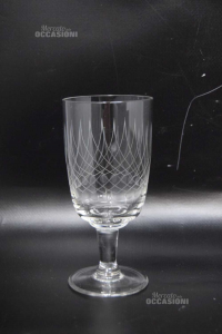 Bicchieri Cristallo 7 Pezzi H 14 Cm